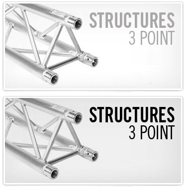 Structures alu 3 Point