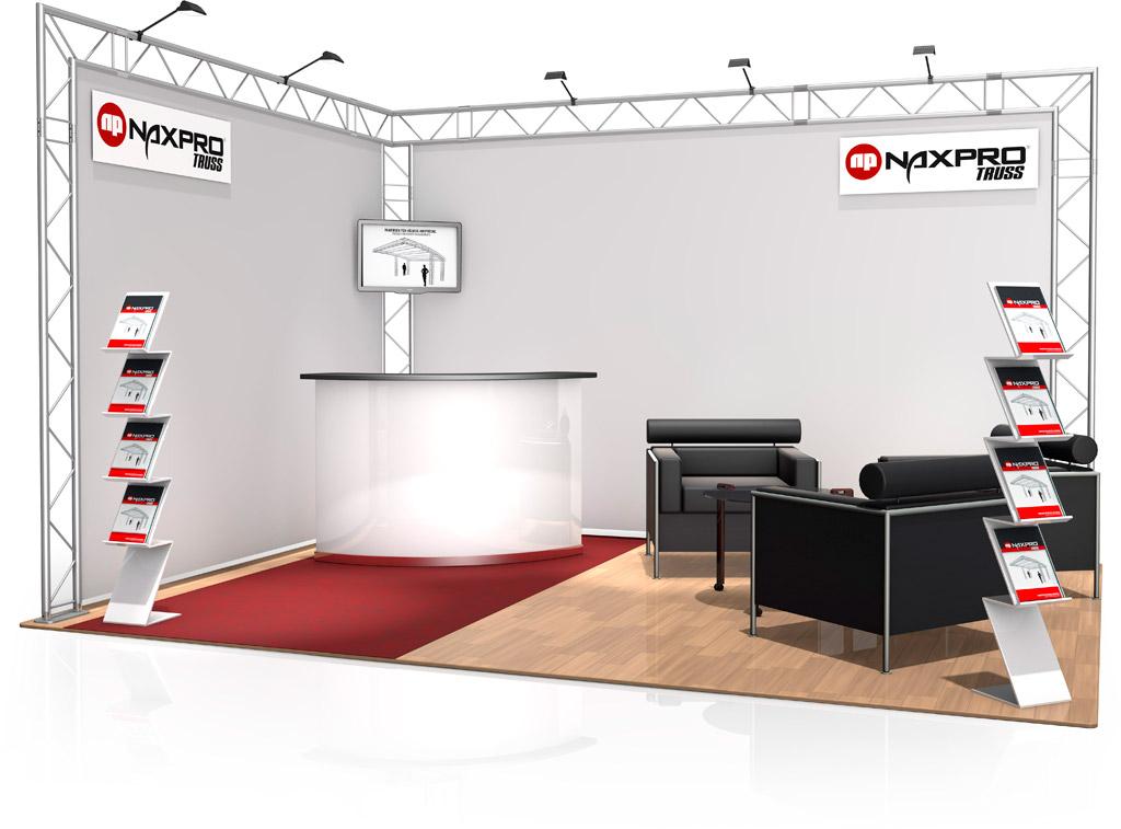 Stands de foire naxpro truss for Amenagement stand foire exposition