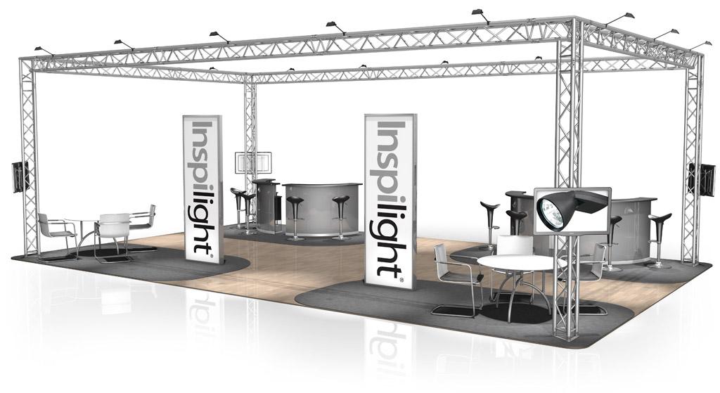 Exhibition Stand Structure : Stands de foire naxpro truss